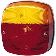 Hella Bulb Trailer tail light Turn signal, Number plate light, Tail light, Brake light rear, left , right 12 V, 24 V