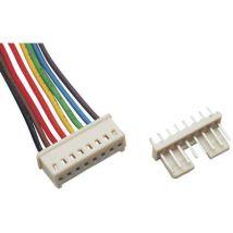 TRU COMPONENTS Pre-fab braid No. of rows: 1 Pins per row: 8 TC-2506239 1 pc(s)