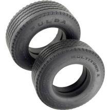 Veroma 1:16 HGV Tyres 22 mm Road Tread 2 pc(s)