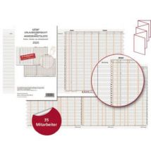 Guess Wall planner 12-22 12-22 12 months/page 1 pc(s)