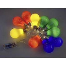 LED (monochrome) Chain party lights No. of bulbs: 10
