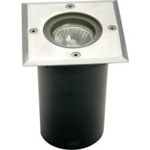 ECO-Light Berlin 1 7005 B-GU10 Outdoor recessed light GU10 HV halogen 35 W Silver