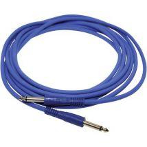 Paccs IC52BL040SD Instruments Cable [1x Jack plug 6.35 mm - 1x Jack plug 6.35 mm] 4 m Blue