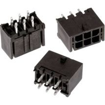 Wuerth Elektronik Built-in receptacles (standard) WR-MPC3 Total number of pins 2 Contact spacing: 3 mm 66200221122 1 pc(s)