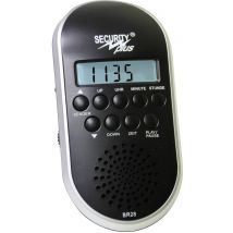 Bicycle radio Security Plus BR28 MP3/USB Black/silver