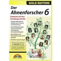 Markt & Technik Der Ahnenforscher 6 Full version, 1 licence Windows Reference
