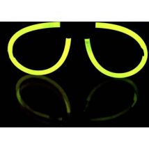 F-GLSyellow Glow stick glasses Yellow