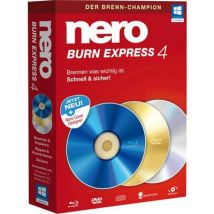 Nero Burn Express 4 Full version, 1 licence Windows CD/DVD creator