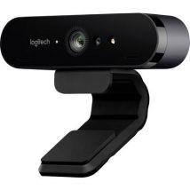 Logitech BRIO 4k webcam 4096 x 2160 p Stand, Clip mount