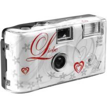 Love White Disposable camera 1 pc(s) Built-in flash