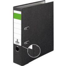 Folder A4 Spine width: 80 mm Black Paste paper 2 brackets 120009490
