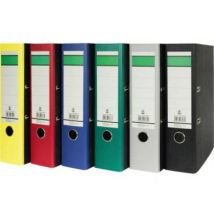 Folder A4 Spine width: 80 mm Black Paste paper 2 brackets 120006900