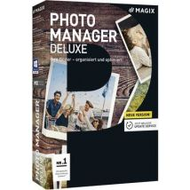 Magix Photo Manager Deluxe Full version, 1 licence Windows Illustrator