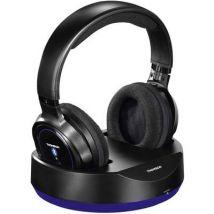 Thomson WHP6316BT Bluetooth® (1075101) Over-ear headphones Over-the-ear Headset, Volume control Black