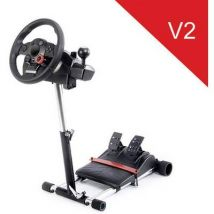 Wheel Stand Pro Driving Force GT/PRO/EX/FX Deluxe V2 Steering wheel mount Black