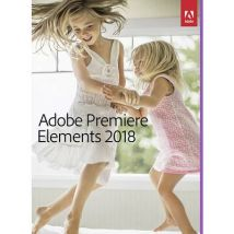Adobe Premiere Elements 2018 Full version, 1 license Windows, Mac OS Illustrator