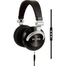 KOSS PRODJ200 DJ On-ear headphones On-ear Foldable, Headset Black, Silver