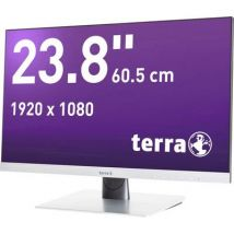 Terra LED 2462W LED 60.5 cm (23.8 inch) EEC A+ (A+ - F) 1920 x 1080 p Full HD 4 ms DVI, Audio line in, HDMI™, DisplayPort AMVA LED