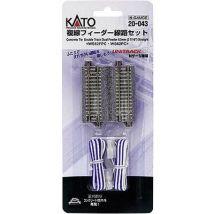 N Kato Unitrack 7078023 Dual track, Feeder track 62 mm
