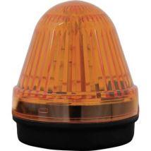 Light LED ComPro Blitzleuchte BL70 2F Yellow Non-stop light signal, Flash 24 Vdc, 24 V AC