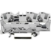 WAGO 2006-1301 Continuity 7.50 mm Pull spring Configuration: L Grey 1 pc(s)