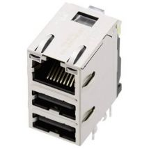 BEL Stewart Connectors 1443-4000-06 1443-4000-06 Socket, built-in