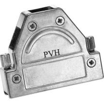 Provertha 1737DC25001 D-SUB housing Number of pins: 37 Metal 180 ° Silver 1 pc(s)
