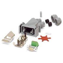 Phoenix Contact VS-09-PROFIBUS-SP 1654345 D-SUB plug 180 ° Number of pins: 9 Pull spring 1 pc(s)