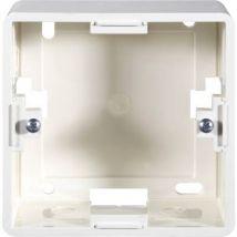 Setec Rahmen fuer Netzwerkdose Surface-mount enclosure Pure white
