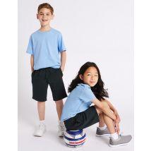 2 Pack Unisex Cotton Rich Shorts