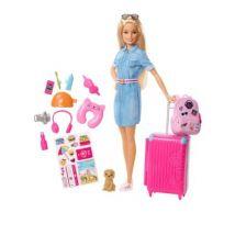 M&S Unisex Barbie Doll Travel Playset (3-10 Yrs) - 1SIZE