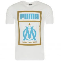 T-shirt OM Fan Puma blanc 2018/19 XS