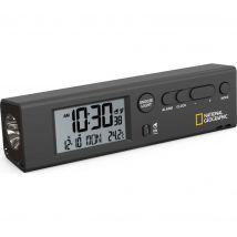 NAT. GEOGRAPHIC NG-9060300 World Clock & Torch