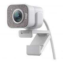 LOGITECH StreamCam Full HD Webcam - White, White