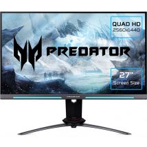 "ACER Predator XB273UGS Quad HD 27"" IPS Gaming Monitor - Black, Black"