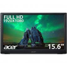"ACER PM161Q Full HD 15.6"" IPS Portable Monitor - Black, Black"
