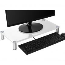 CONNECTED ESSENITALS Monitor Stand - White, White