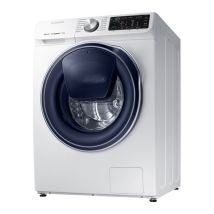 SAMSUNG QuickDrive + AddWash WW80M645OPW Smart 8 kg 1400 Spin Washing Machine - White