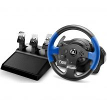 THRUSTMASTER T150 RS Racing Wheel & Pedals - Black & Blue, Black