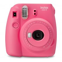 INSTAX mini 9 Instant Camera - Flamingo Pink, Pink