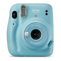 INSTAX mini 11 Instant Camera - Sky Blue, Blue