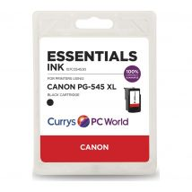 ESSENTIALS PG-545XL Black Canon Ink Cartridge, Black