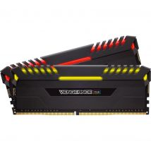 CORSAIR Vengeance RGB DDR4 3000 MHz PC RAM - 8 GB x 2- 8 G