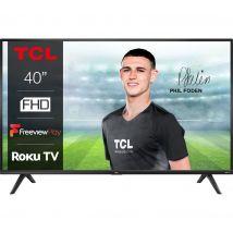 "40"" TCL 40RS520K Roku  Smart Full HD HDR LED TV"