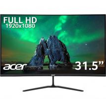 """ACER ED320QRPbiipx Full HD 31.5"""" Curved LCD Monitor - Black, Black"""