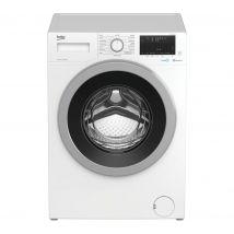 BEKO WEX940530W Bluetooth 9 kg 1400 Spin Washing Machine - White, White