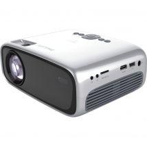 PHILIPS NeoPix Easy 2 NPX442 HD Ready Mini Projector  - Grey & Silver