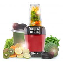 NINJA BL480UKMR Blender - Metallic Red, Red