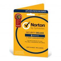 NORTON Norton Security Deluxe & Norton Utilities - 5 Devices