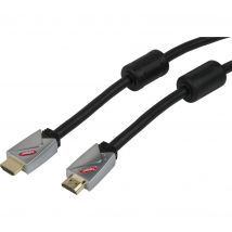 LABGEAR HDMI Cable with Ethernet - 10 m, Gold